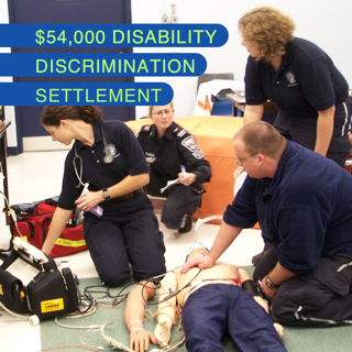 College Pays $54,000 To Settle DOJ ADA Lawsuit For Paramedic Program's Termination of TA With MS